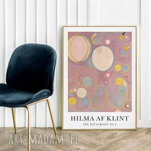 plakaty hilma af klint - plakat 50x70 cm, plakat, reprodukcja