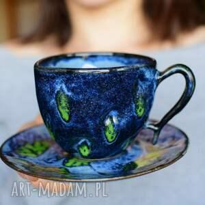 ciepliki filiżanka ceramiczna z wgłębieniami rękodzieło, filiżanki do kawy