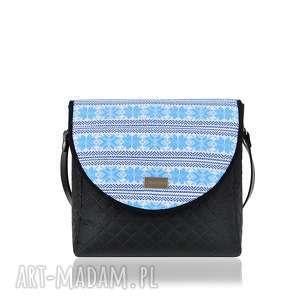 torebka puro 1292 belarusian light blue, praktyczna, pojemna, wygoda, klapka