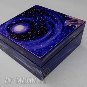ręcznie zrobione pudełka pudełko szczęście gwiazd