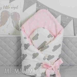Rożek otulacz chmurki gwiazdki pastelowy pokoik dziecka betulli