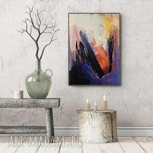 galeria alina louka abstrakcja 100x70, obraz do sypialni, piękne wnętrze, duży
