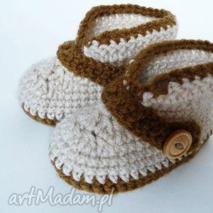 handmade buciki buciki szydełkowe