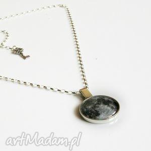 Twoja grafika w srebrnym naszyjniku (rozmiar duży), naszyjnik, srebro, obrazek