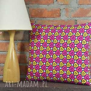 Prezent Poduszka dekoracyjna z motywem 40x45cm, bawełna, prezent, dekoracja