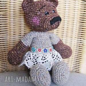 hand-made maskotki misia zosia