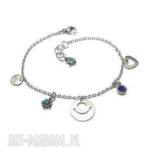 handmade alloys collection /2017/ - line blue heart vol