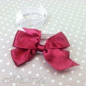 bukiet-pasji opaska kokardka na gumce dla dziewczynki - niemowlak, prezent