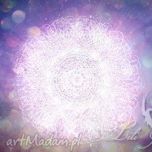 obrazy obraz energetyczny - bóg w nas płótno, obraz,