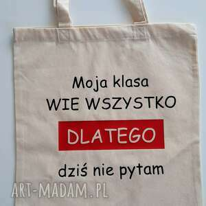 torba zakupowa prezent na dzień nauczyciela, torba, worek, zakupowa