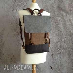 hand made wodoodporny plecak