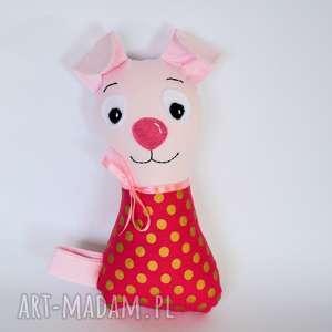 Piesek torebkowy - Rózia 24 cm, pies, szczeniaczek, niemowlę, dziecko, dziewczynka
