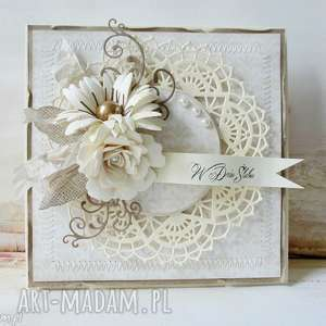 Ślubna kartka w pudełku - ślub