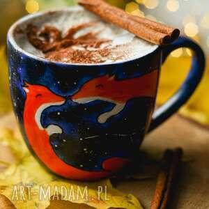 kubki kubek do kawy lisy galaxy prezent, prezent walentynki, lis