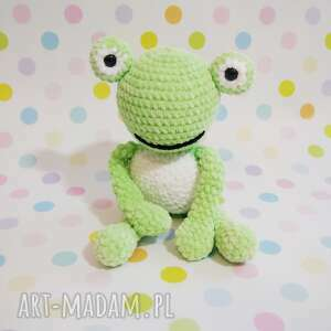 maskotki żabka - żabi książę, żaba, przytulanka, maskotka, upominek, rękodzieło