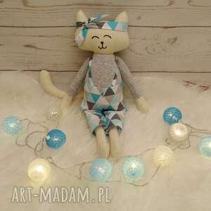 maskotki kociak tilda przytulanka, prezent, wystrój