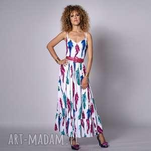 teofila - sukienka boho, długa, letnia