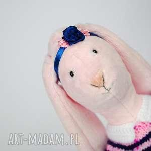 króliczek - maskotka, zabawka, dziewczynka, pamiątka, minky, przytulanka