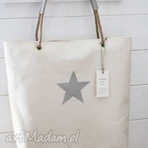 Torba XL, torba, torebka, damska, skórzana, gwiazda, plaża