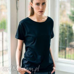 nature black oversize t-shirt, oversize, tshirt, casual, czarny, bawełna, moda