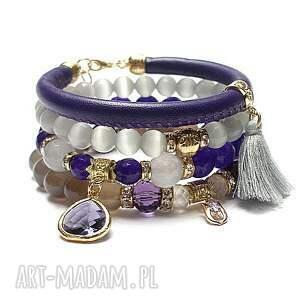 ręcznie zrobione violet and grey vol. 14 /13 -04 -21/ set