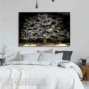 Obraz na płótnie księżycowe drzewo 120x80 renata bulkszas drzewo
