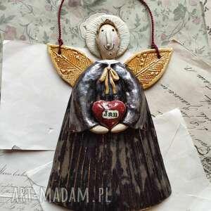 św jan bosko, ceramika, anioł, święty, serce, bosko wyjątkowe