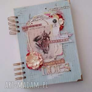 Notes _ dama z koniem - ,notes,a5,