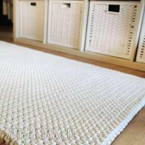 dwa dywaniki ze sznurka 65 x 125 cm, chodnik, dywanik, sznurkowy, dziergany