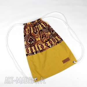 Prezent Worek plecak etniczny kolorowy, worek, plecak, etniczny, prezent