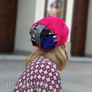 hand-made czapki czapka damska dobra na codzienne noszenie