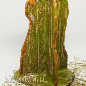 dekoracje figurka kaktus ręcznie robiona handmade prezent wys ok 20 cm