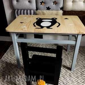Meble dzieciece pokoik dziecka wnetrze z gustem stolik