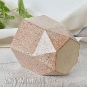 ceramika czarka ceramiczna dajmond, diament, pomysł na prezent, kamionka