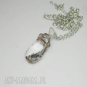 szklany wisior-n14, szklany, szkło, unikatowa biżuteria, unikatowy wisior