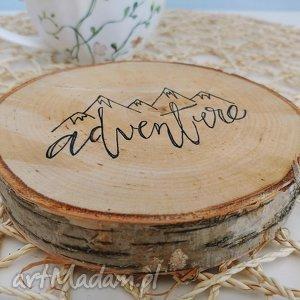 podkładka pod kubek drewno - ,podkładka,podkładki,eko,drewno,adventure,