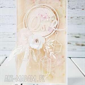 scrapbooking kartki pamiątka ślubu #203, kartka ślubna, na ślub