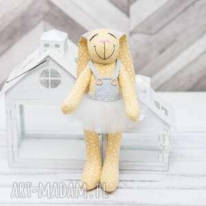 królik prezent haft personalizacja, królik, imię, chrzest, haft