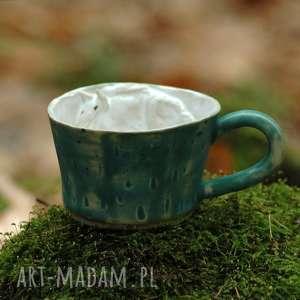 ceramika ceramiczna filiżanka kubek z figurką konia morski, kubek, koniem