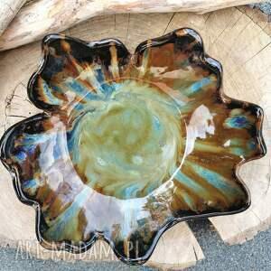 świąteczny prezent, misa ceramiczna c297, misa, klon, ceramiczna, miska
