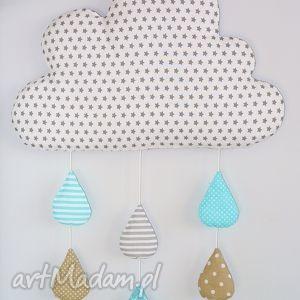 hand-made pokoik dziecka deszczowa chmura