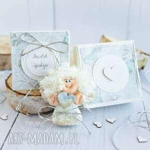 aniołek spokoju, dla niej, kobiety, na imieniny, dziecka, urodziny