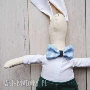 pan królik, przytulanka, szmacianka, gwiazdka, eko, prezent, choinka