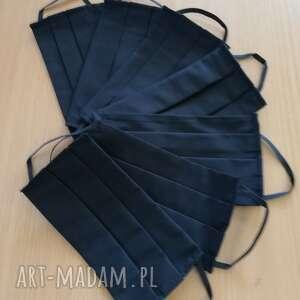 maseczki maseczki, maski do wielokrotnego użytku z bawełny, komplet 7 maseczek