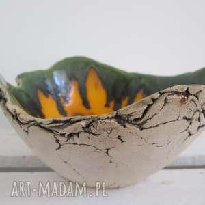 Miseczka magiczna skała ceramika ana organiczna, miska jak skała