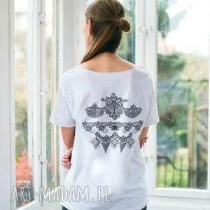 LACE WHITE Oversize T-shirt, oversize