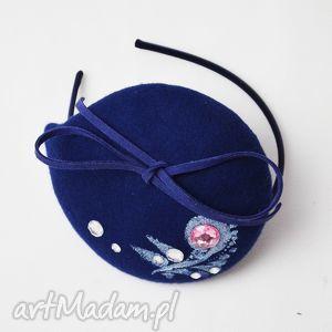 filemonka niebieska, niebieski, filc, toczek, wyjątkowy prezent