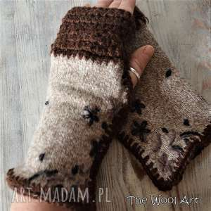 Prezent rękawiczki mitenki, rękawiczki, nadłonie, prezent