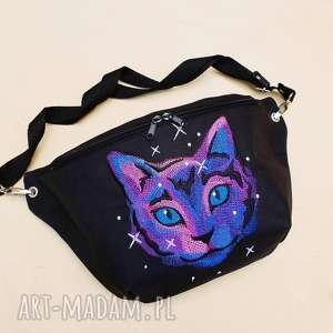 nerka XXL space cat, nerka, kot, saszetka, torebka, kotek, kosmos