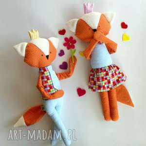 hand-made maskotki króliska